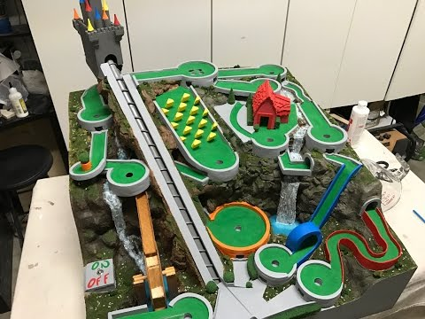 An Amazing Mini Golf Themed Marble Machine