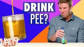 Video LIFESTRAW CHALLENGE: Drinking Pee, Backwash & More! MP3, 3GP, MP4, WEBM, AVI, FLV September 2018