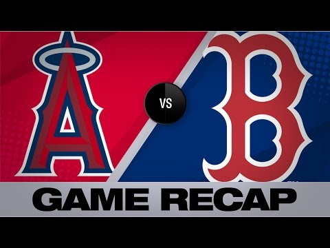 Video: Trout, Upton power Angels past Red Sox | Angels-Red Sox Game Highlights 8/10/19