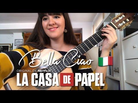 Bella Ciao para Guitarra por Paola Hermosín | La Casa de Papel