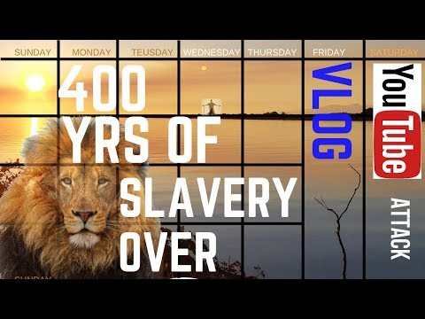 400 yrs of Slavery Enocnian Calendar Update Vlog Youtube Channel Attack