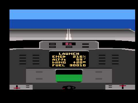 flight simulator 2 atari xe