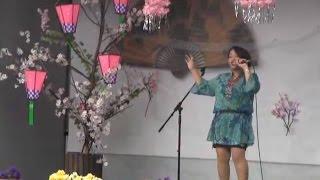 羽黒桜まつり6まりっぺオンステージ