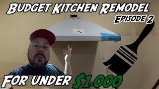 DIY How to Hang a Kitchen Hood | DIY Kitchen Remodel