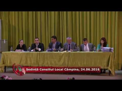 Emisiunea Proiecte pentru comunitate – 27 iunie 2016- Ședință Consiliul Local Câmpina