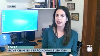 Nove cidades do interior devem ter novas eleições até julho