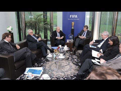 Meeting between FIFA and the ITUC