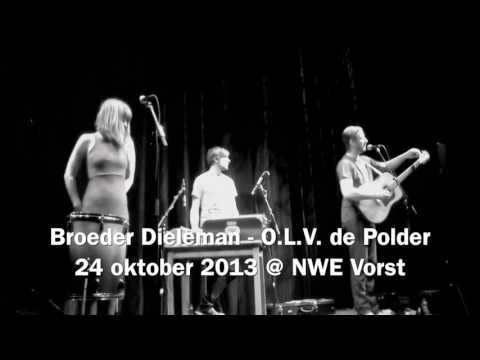 Finally got the chance to hear @BroederDieleman's beautifull songs live @nwevorst, up close, and personal. #like [video]