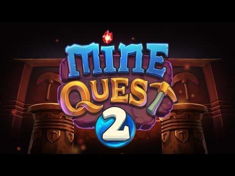 Official Mine Quest 2 (by Tapps Tecnologia da Informação Ltda.) Launch Trailer (iOS/Android/Amazon)