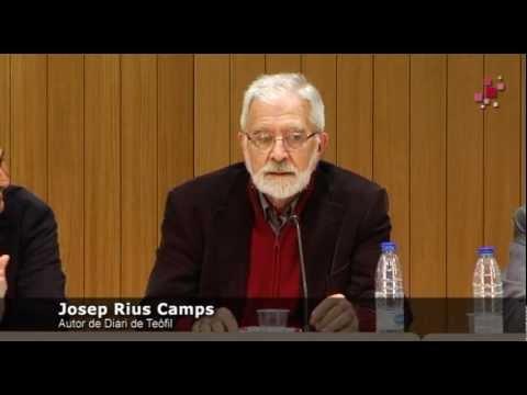Presentació del llibre 'Diari de Teòfil' de Josep Rius-Camps