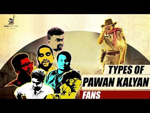 Types of Pawan Kalyan Fans || Sardaar Gabbar Singh - Rod Factory