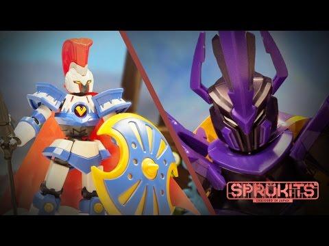 Bandai SpruKits LBX Stop Motion