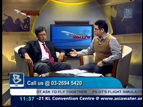 #MH370 Grandstand on Bernama TV, Interview with Dato Dr Ahmad Sabirin of ATSB