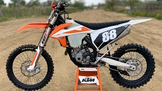 7. First Ride 2019 KTM 250XCF - Motocross Action Magazine