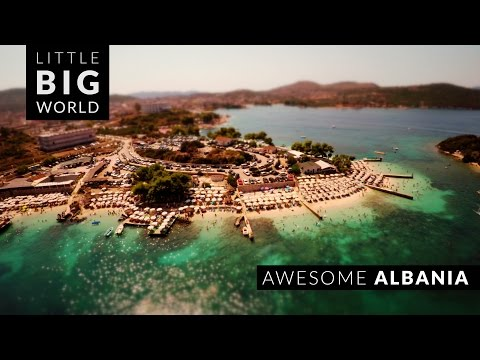 The Magnificent Beauty of Albania Captured in a Short Aerial TiltShift TimeLapse