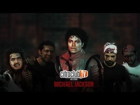 Cifra Club ao vivo [Michael Jackson + Jean Walker] – programa exibido em 22/06/2012