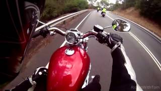 8. Harley Davidson 1200 Custom Test Ride Review