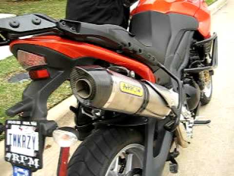 Triumph Tiger 1050 with Arrow race exhaust #2