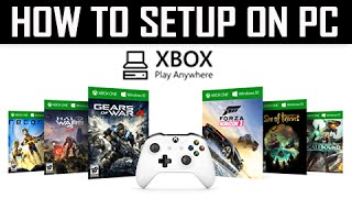How to Setup XBOX Play Anywhere Program on PC (Xbox One X1 Installation Tutorial) https://www.youtube.com/watch?v=_n7cBRyesQY It took me a while to figure ou...