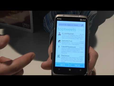 0 Recension av Windows Phone 7 och Samsung Omnia 7