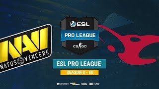 Na`Vi vs mousesports - ESL Pro League S8 EU - bo1 - de_dust2 [CrystalMay, Anishared]