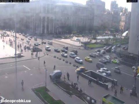 Live-Cam: Ukraine - Kiew - Maidan - Maidan Nezalezhnost ...