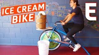 This Bike Makes Ice Cream — Snack Break by Eater