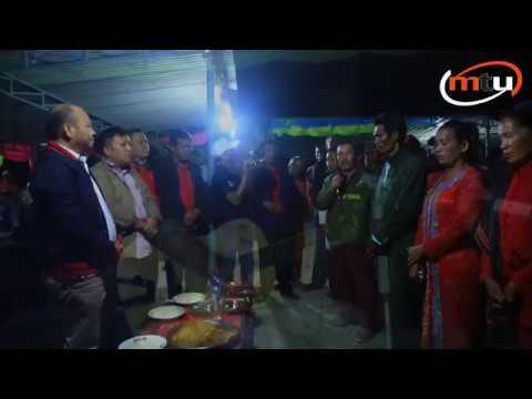 Nikson Nababan disambut dengan Sebuah Lagu Ciptaan Sendiri di Silantom