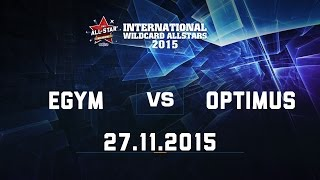 All stars 2015: Optimus Caitlyn vs EGym Leona (Optimus thắng)