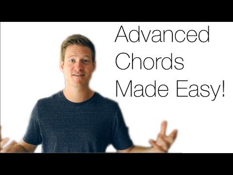 ADVANCED GUITAR CHORDS MADE EASY | Jesse Lane