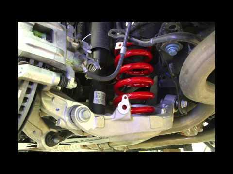 BMR Suspension SP080 Performance Lowering Springs for S550 Mustangs