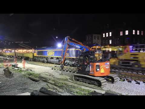 Derby Resignalling completed - Midland Main Line Upgrade