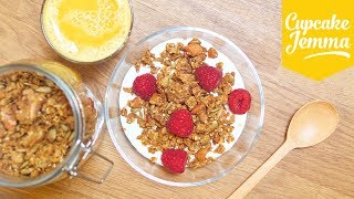 How to Make Granola Two Ways: Delicious and Low-Sugar | Cupcake Jemma by Cupcake Jemma