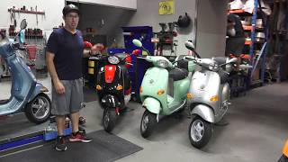 9. History of the ET4 & Modern Vespa