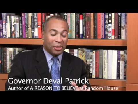 A Reason to Believe by Governor Deval Patrick - Official Book Trailer