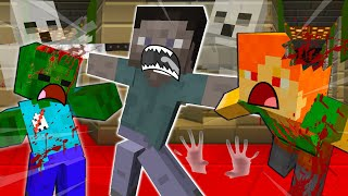 STEVE DIES And TURNS Into A GHOST - MINECRAFT STEVE AND ALEX [212]