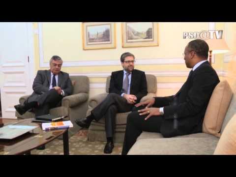 Presidente do MpD visita Sede Nacional do PSD