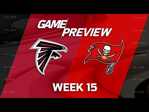 Video: Atlanta Falcons vs. Tampa Bay Buccaneers | NFL Week 15 Game Preview | NFL Playbook