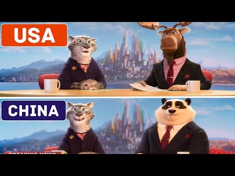 5 CARTOONS THAT LOOK DIFFERENT IN OTHER COUNTRIES (видео)