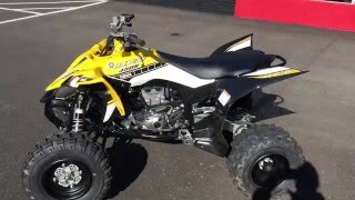 8. 2016 Yamaha YFZ-450R in Yellow and Black 60th Annivesary @ Yamaha of Knoxville
