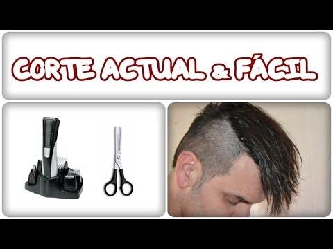 Cómo cortase el cabello en casa. Corte actual para hombre 2013. Peinados look tupé y despeinado.
