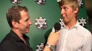 Gutshot Poker Interview With Erik Sagstrom Erik123 At WSOP 2005