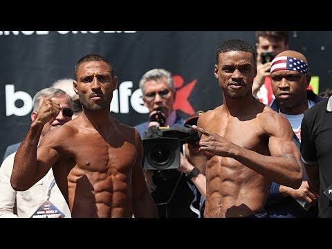 Brook v Spence: Weigh-in