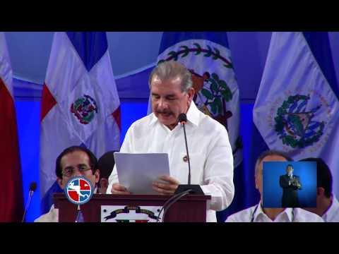 Discurso Presidente Danilo Medina en la XLIII Cumbre de Jefes de Estado y de Gobierno del SICA.