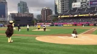 Recap of Bear & the San Diego Padres   Energy Upgrade California