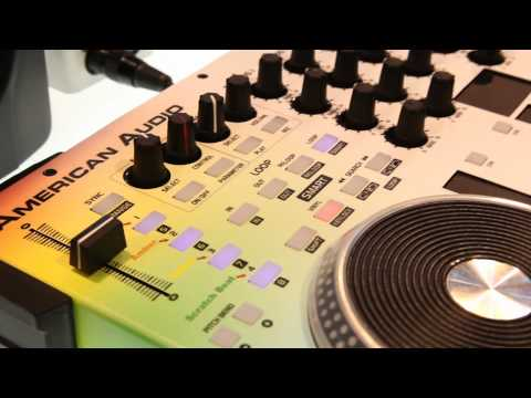 NAMM 2014 | American Audio Mobile DJ Rig + Lighting Controller VMS 4.1 Traktor | AudioSavings.com