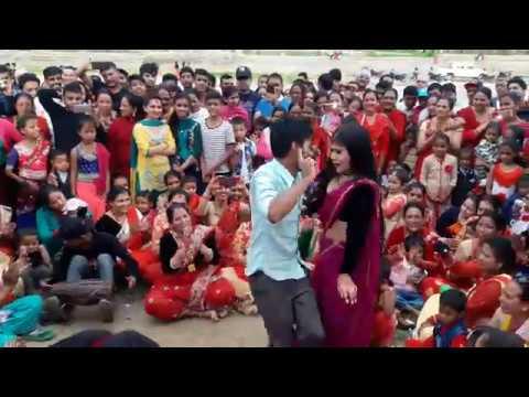 Video Typical Teej Dance 2074 तीज दोहोरी नाच Teej Dance Dhamaka Gulmi Tamghas 2074/2017 download in MP3, 3GP, MP4, WEBM, AVI, FLV January 2017