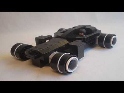 Lego TRON: Legacy - Quorra, Kevin Flynn, and the Light Runner