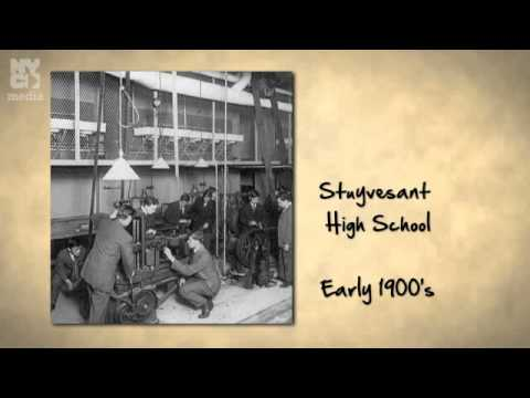 First Girl Admitted to Stuyvesant High School