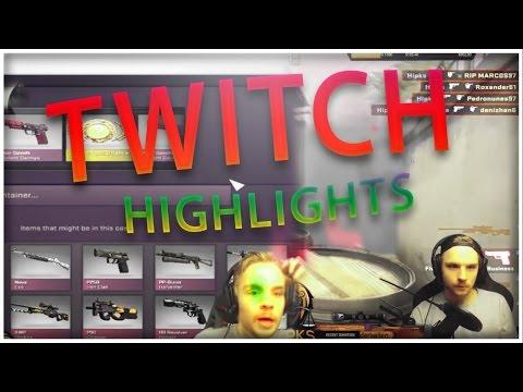 CS:GO  INSANE TWITCH HIGHLIGHTS #2- HIPKS